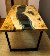 Slab Wood Table by Live Edge Acacia Wood Dining Table With Glass River Centre Slab