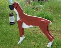 boxer dog statue boxer dog statue etsy