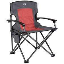Campimg Chairs Luxury Folding Camping Chair Padded Outdoor Seat With Pockets