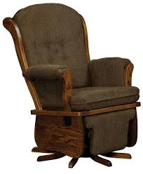 swanback swivel glider amish direct furniture