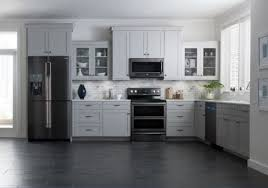 colored kitchen cabinets with stainless steel appliances black stainless steel appliances