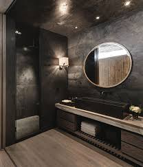 Gray And Black Bathroom Ideas Best 25 Dark Bathrooms Ideas On Pinterest Slate Bathroom