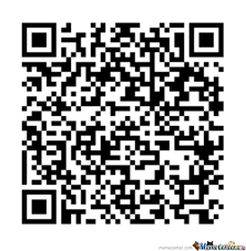 Meme Qr Code - sorry for those who don t have a smartphone or a qr code reader by