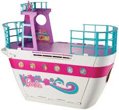 barbie pink passport cruise ship playset toys