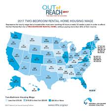 How Much Does A 2 Bedroom Apartment Cost This Map Shows How Much You Need To Earn To Rent An Apartment In The U