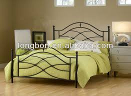 top selling modern beautiful cheap metal bed view cheap metal bed