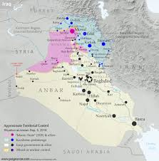 Iraq Map World by Iraq Control Map U0026 Report September 2016 Political Geography Now