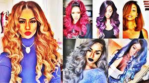 latest cool ombre hairstyles for black women 2016 2017 youtube