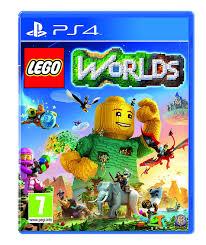 lego worlds ps4 amazon co uk pc u0026 video games