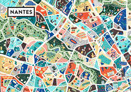 bureau de vote nantes best of a map of nantes antoine corbineau illustration design