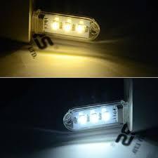 amber led book light mini usb book light 3 leds energy saving night light led portable