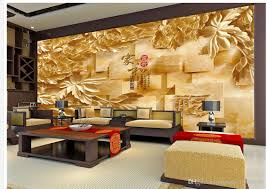 Wall Murals 3d 3d Wood Carving Marble Stereo Tv Wall Mural 3d Wallpaper 3d Wall