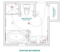 modern bathroom plansmaster bathroom layouts for a modern bathroom