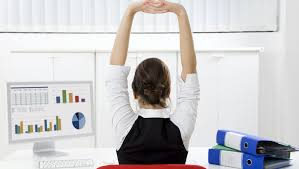 5 simple stress reducing exercises you can do at your desk