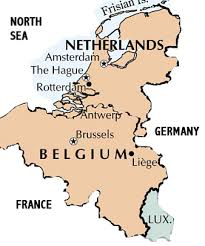 belgium and netherlands map map of belgium and netherlands major tourist
