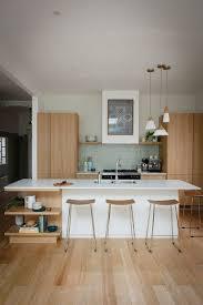 modern kitchen islands double bowl inset sinks elegant pendant lamp white laminate