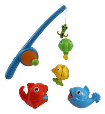 Bathroom Sets For Kids Amazon Com Rod And Reel Fishing Game Bath Toy Set For Kids With