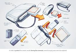 industrial design 95 best bag sketches images on product sketch product