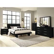 zen bedroom set zen bedroom bed dresser mirror queen black