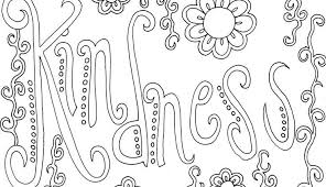 coloring pages on kindness coloring pages with words coloring page kindness sunday school ideas