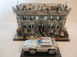Lego Headquarters Lego Ideas Gotham Tv Show Police Headquarters