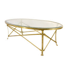 brass and glass end tables top glass and brass coffee table on glass top coffee tables oval