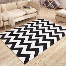 Coffee Table Rugs 40x60cm 50x80cm Modern Geometry Minimalist Bedroom Living Room