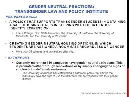 Gender Neutral Bathrooms On College Campuses Invisible Identity Series Ppt Online Download