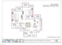 ajnara sports city flats and villas floor plan
