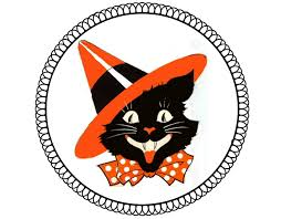 vintage halloween cat printable u2013 festival collections