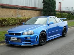 nissan skyline modified harlow jap autos uk stock nissan skyline r33 gtr tuned by hks