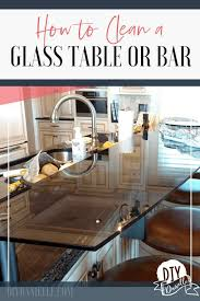 how to clean kitchen cabinets without leaving streaks how to clean a glass table or bar and keep it clean glass