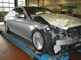 mercedes s class sale s crashed w222 s class is up for sale autoevolution