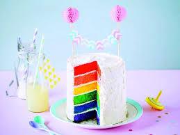 jeux de cuisine gateau gratuit vidéo un gâteau d anniversaire arc en ciel pour fille ou garçon