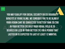 Is Color Blindness A Disability What Is Considered Legally Blind For Disability Youtube
