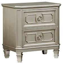 Bedroom Furniture Chest Of Drawers Beech Windsor Silver Panel Bedroom Set From Standard Furniture Coleman