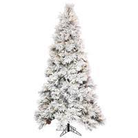 flocked christmas tree flocked christmas trees at lightbulbs