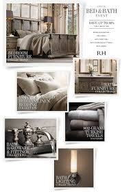 restoration hardware annual bed u0026 bath event starts today save