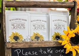 sunflower seed wedding favors 100 edible wedding favor ideas we hi miss puff