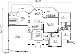 Southwestern House Plans House Plan 87882 At Familyhomeplans