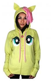 Wilfred Costume My Little Pony Fluttershy Pegasus Face Juniors Butter Yellow
