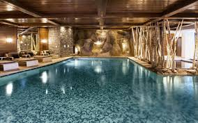 luxury hotel hotel le cheval blanc courchevel 1850 france