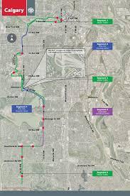 Calgary Map Engage Southwest Bus Rapid Transit Brt