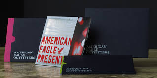 gift card carriers a new american classic the aeo gift card carrier packaging