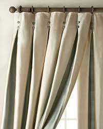 Cream Silk Drapes Each 96