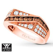 levian wedding rings jared levian chocolate diamonds s ring 1 1 3 ct tw 14k gold
