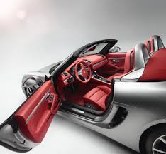 Porsche Boxster Red - porsche boxster review design interior and photo gallery