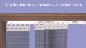 how to install a soffit fit fly and insect screen mesh curtain