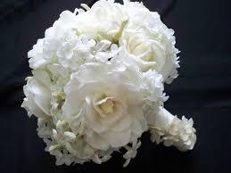 Gardenias by Gardenias Roses And Stephanotis Bridal Bouquet Flowers