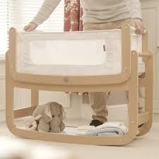 Bed Side Cribs Snuzpod 3 In 1 Crib With Mattress Snuz Pod 2 Cuckooland